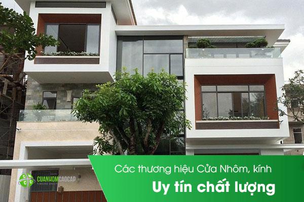 Thương hiệu Cửa Nhôm,kính và thi công uy tín chất lượng Việt Nam